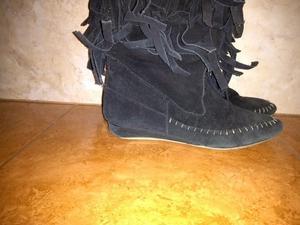 Vendo botas con flecos