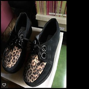 Zapatos de gamuza combinados