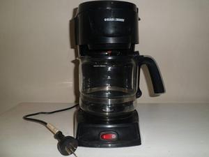 Cafetera Eléctrica Black& Decker Filtro. Impecable Estado