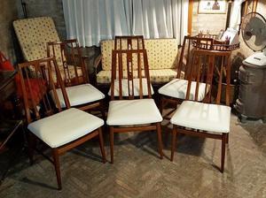 Juego de 6 sillas americanas