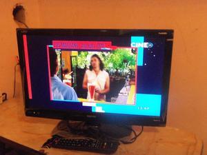 "Televisor LED TV y Monitor 24"", Sanyo, control, tda, usb"