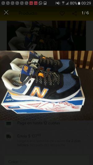 Zapatillas New Balance Unisex sin uso