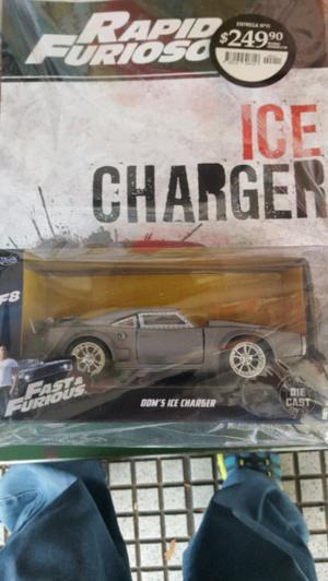 autito coleccion rapido y furioso DOM ICE CHARGER