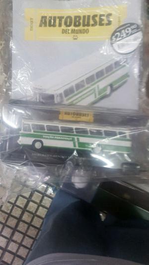 colectivos de la coleccion autobuses del mundo de la nacion