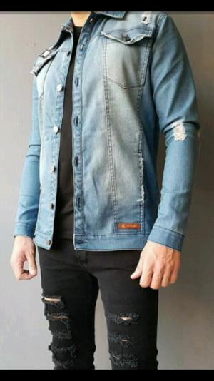 Campera de Jean Slim Fit Unica