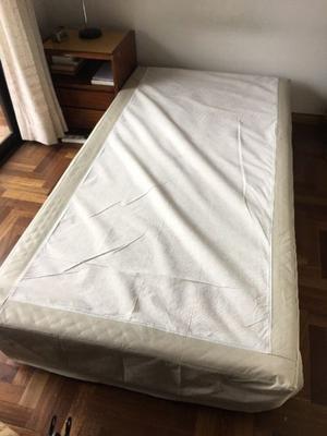 Vendo cama de 1 1/2 plaza