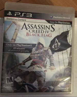 Juego PS3 Assassins Creed Black Flag Físico