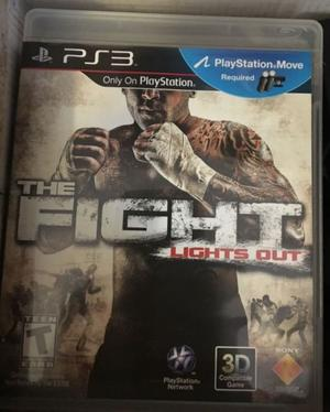 Juego PS3 The Fight Lights Out Físico