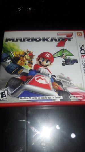 Mario kart 7 nintendo 3ds juego
