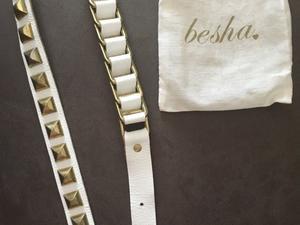 Cinturón de cuero Besha