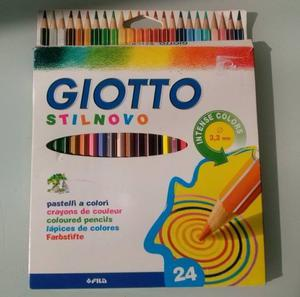 Lapices De Color Giotto Stilnovo X 24 - 1 sola vez de uso