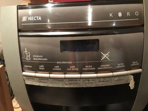 Máquina de café usada