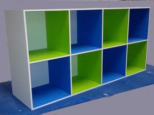 Mueble o biblioteca infantil guarda juguete posot class - Cajones guarda juguetes ...