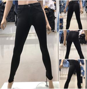 Pantalón Jean Negro para mujer