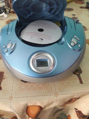 Radio reproductor de cd aux am y fm
