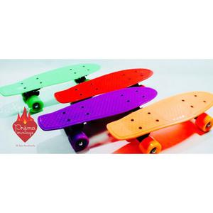Skate Patineta Penny Old School Mini Crusier Ruedas Silicona