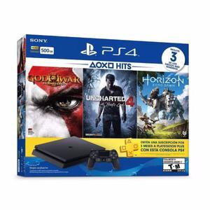 Sony PlayStation 4 Slim 500 gb + 3 juegos
