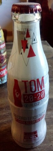 Botella De Vidrio De Coca - Cola. Ed. Esp. . Femsa..