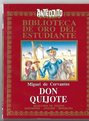 Don quijote de la mancha, Cervantes, Colección Anteojito.