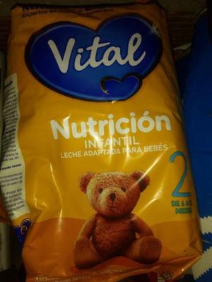 Leche Vital2 - 3kilos para bebes de 6 a 12 meses