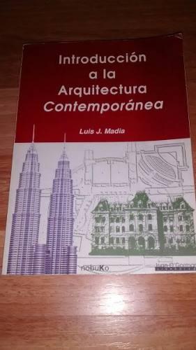 Libro - Introducción A La Arquitectura Contemporánea -