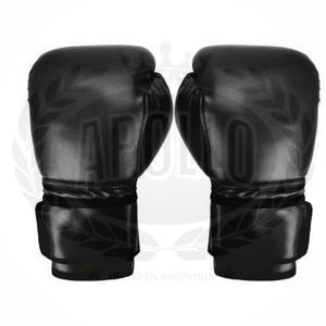 Guantes 12oz Boxeo Kick Boxing Box Calidad Negro