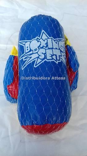 Guantes De Boxeo Con Bolsa Saco De Boxeo Para Niño Rodar