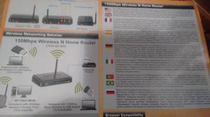 Router Trendnet Wifi Tew-651br 4 Bocas