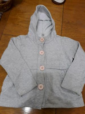 Abrigo algodon frizado