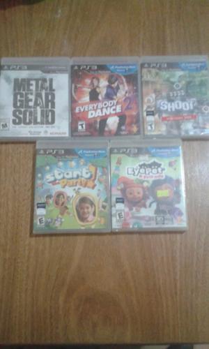 [OFERTA] Combo 5 Juegos de PS3 Nuevos - a Estrenar