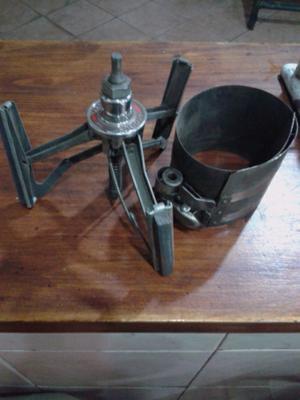 bruñidor de cilindros y prensa aros
