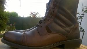 3 camperas cuero + botas de cuero importadas