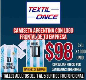 Camiseta Argentina Mundial Rusia