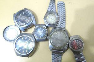Colección De Relojes Antiguos P/repuestos Orient B085