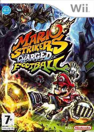 Mario Strikers Charged Para Nintendo Wii. Original Y Sellado