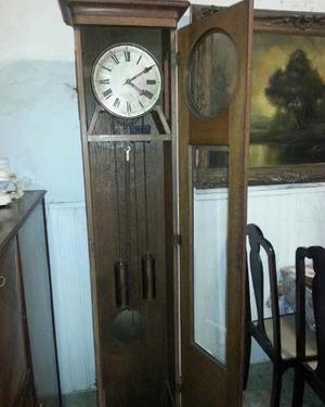Reloj Antiguo De Pie Con Pèndulo
