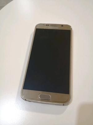 Samsung Galaxy S6 Flat. Excelente Estado. Dorado.