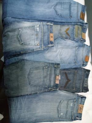 Jeans de hombre de marca talle 42 rectos