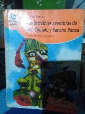 Las Increíbles Aventuras De Don Quijote Y Sancho Panza -