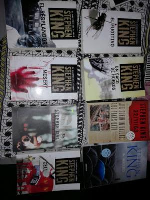Lote de libros Stephen king