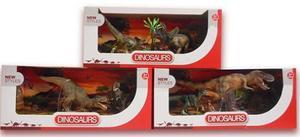 Set De Dinosaurios De Juguete