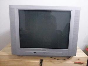 """TV Color de 25 """" c/Rto. Philips, estero pantalla plana Real"""