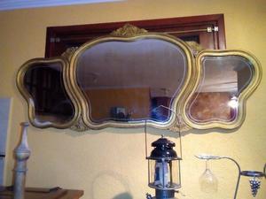 Vendo hermoso espejo antiguo