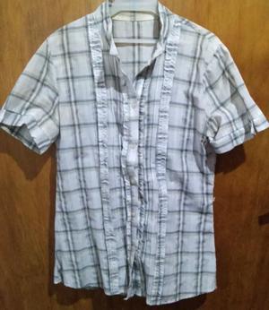 Camisa de mujer manga corta