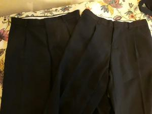Pantalon negro de vestir los dos por $500