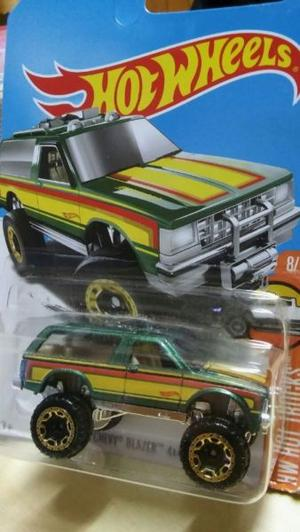 hot wheels camioneta chevy blazer 4x4