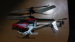 vendo helicoptero a control remoto en excelente estado