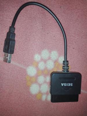 Adaptador para joystick de ps2 a pc