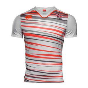 Camiseta rugby canterbury inglaterra seven titular 2a77c84031d65