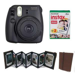 Fuji Instax Mini 8 Negra 20 Fotos Mini Fotolibro Instax